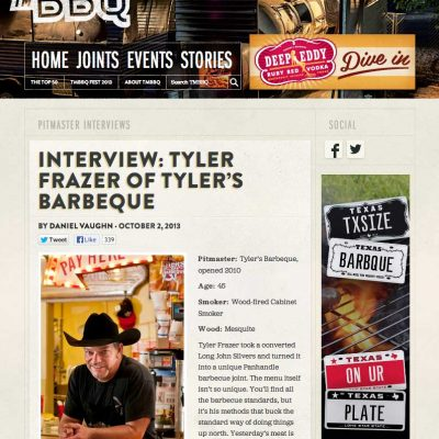 Texas Monthly BBQ - Interview