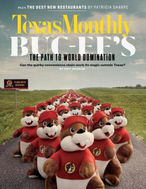 Texas Monthly March 2019 Cover