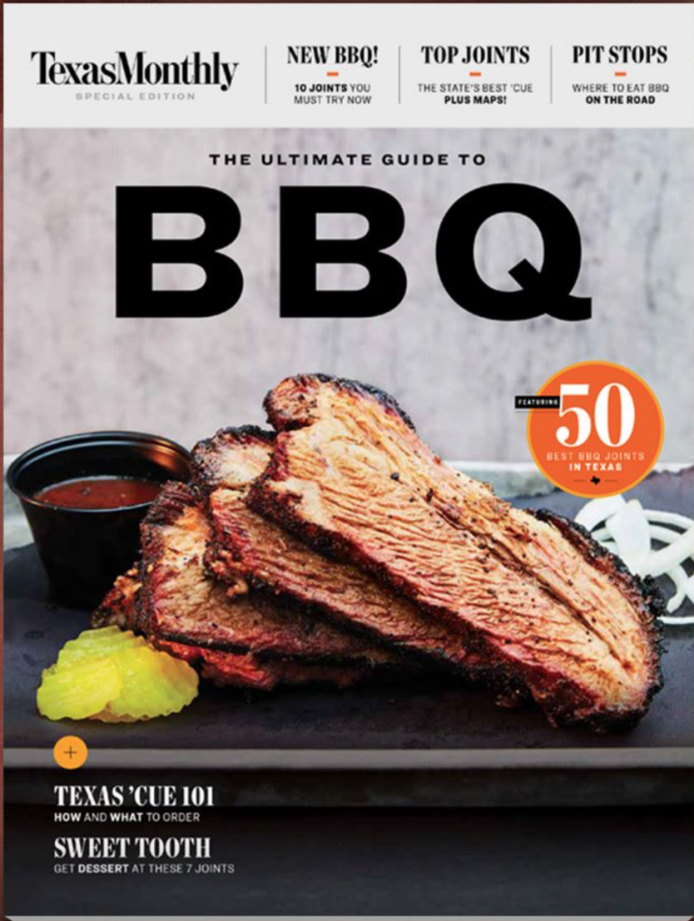 Texas Monthly, Ultimate Guide to BBQ
